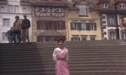 旧市庁舎横の階段